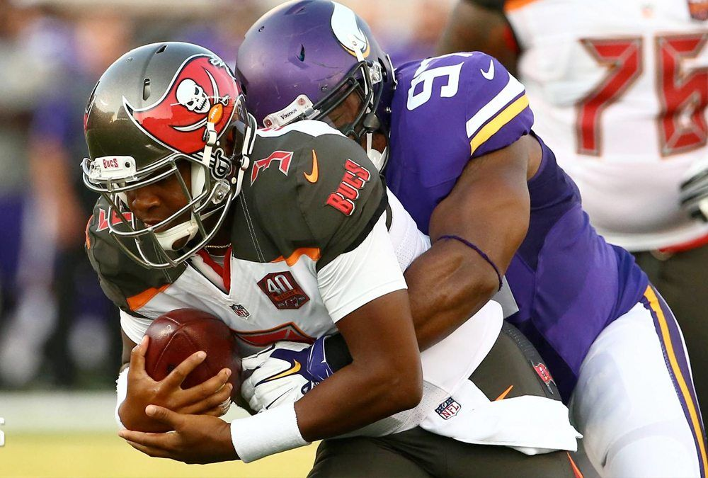 Vikings Victorious Against Tampa Bay? https://t.co/PiWbqqqQbD  The Vikings return back home to take on the Tampa  https://t.co/w2NEislCFO September 21 2017 at 07:41PM http://twitter.com/luzuwiyic/status/910952086640238592