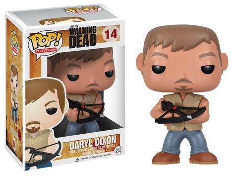 Pop! TV: The Walking Dead - Daryl   Funko