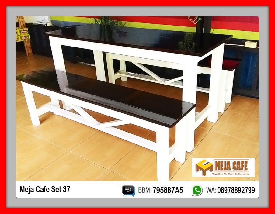 Meja Cafe Set 37 Solidwood Jatibelanda Finishing Wallnut White Melamin Clear Glossy 150 X 60 X 75 Table Dimension Harga Rp 3jt Set Franco Jakarta Fast Or