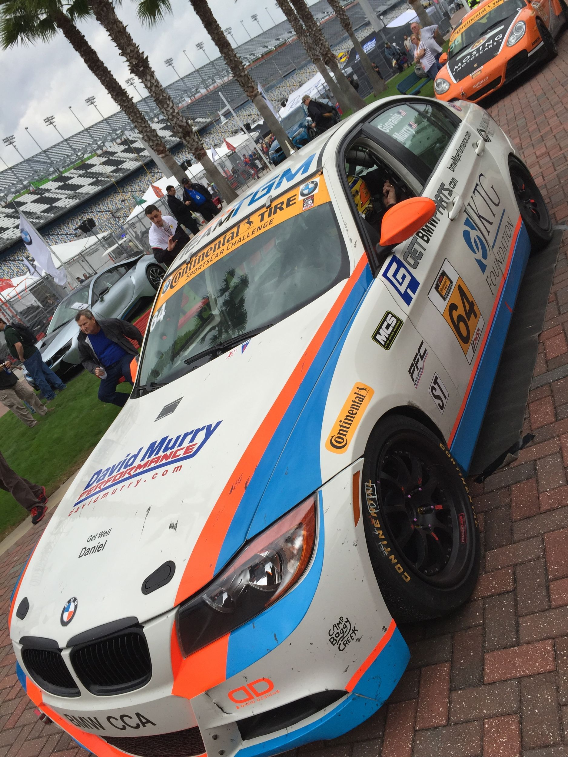 The Team TGM 64 BMW 328i on Forgeline GA3R wheels takes 3rd place