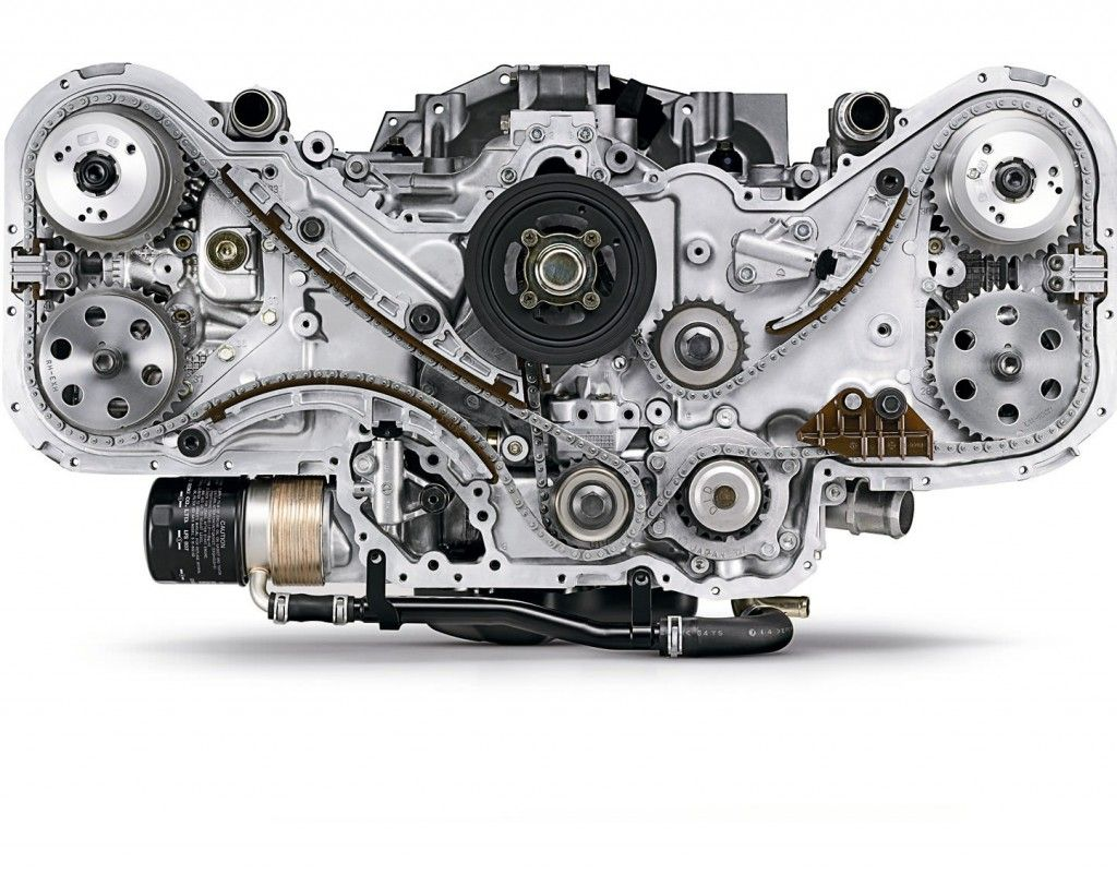 H6 Boxer Engine Engineering Subaru