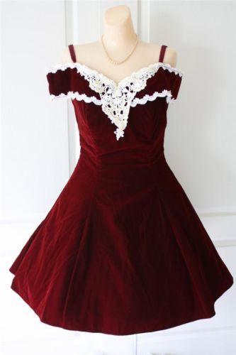 Mini Velvet Prom Dress