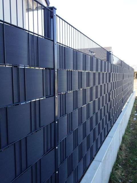 Sichtschutzstreifen für Zäune - Premium #zaunideen