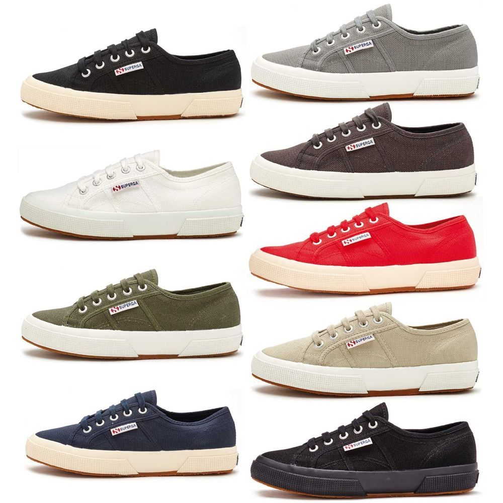 the best attitude a7fc8 b1d13 Superga 2750 Cotu Classic Canvas Plimsoll Trainers - Various Colours    Sizes  Superga  Trainers