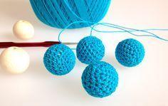 Häkelperlen Für Eine Kette Häkeln Pinterest Crochet Crochet