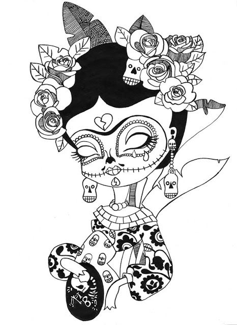 Coso De Ilustradores Dibujos Frida Kahlo Tattoos Colorful