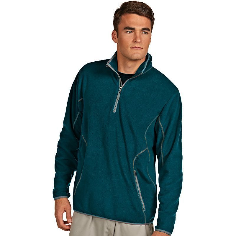 Men s Antigua Ice Polar Fleece 1 4-Zip Pullover  4c09e675f