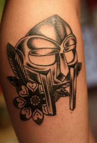 Mf Doom Tattoo Designs