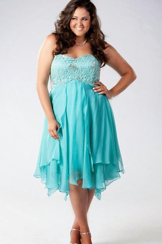 at Sydney\'s Closet // Emma dress in aqua | #4 - Curvy Girl ...