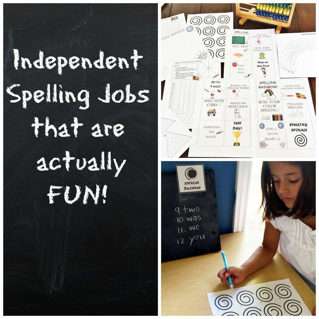 Spelling Job Header