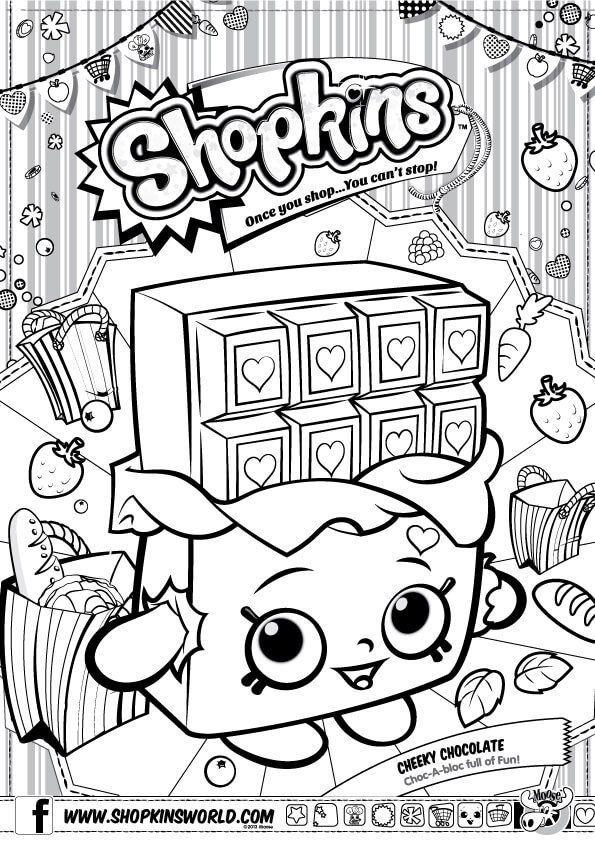 Coloring Books Shopkins Ausmalbilder Staffel 1