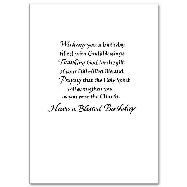 Blessings for a special priest priest birthday card bdat priest blessings for a special priest priest birthday card m4hsunfo