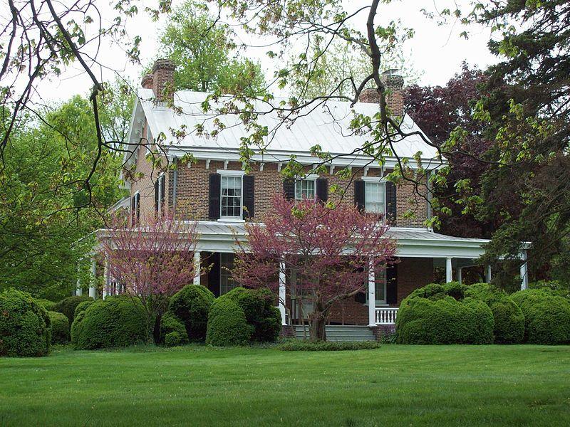 Vintage Bell Farmhouse, boasting a massive Doric