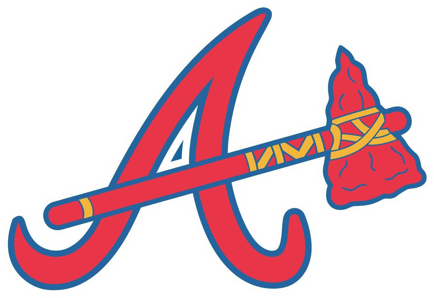 Atlanta Braves Decal Sticker Atlanta Braves Atlanta Braves Baseball Braves