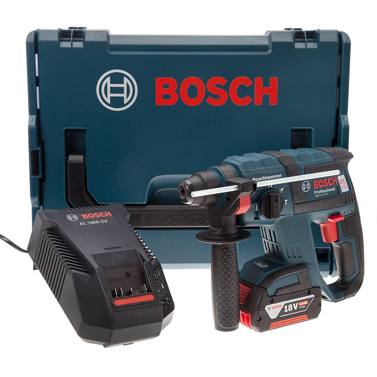 Accu Klopboormachine Bosch Hammer Sds Plus Gbh18vec 18v Supplied With 1 X 5ah