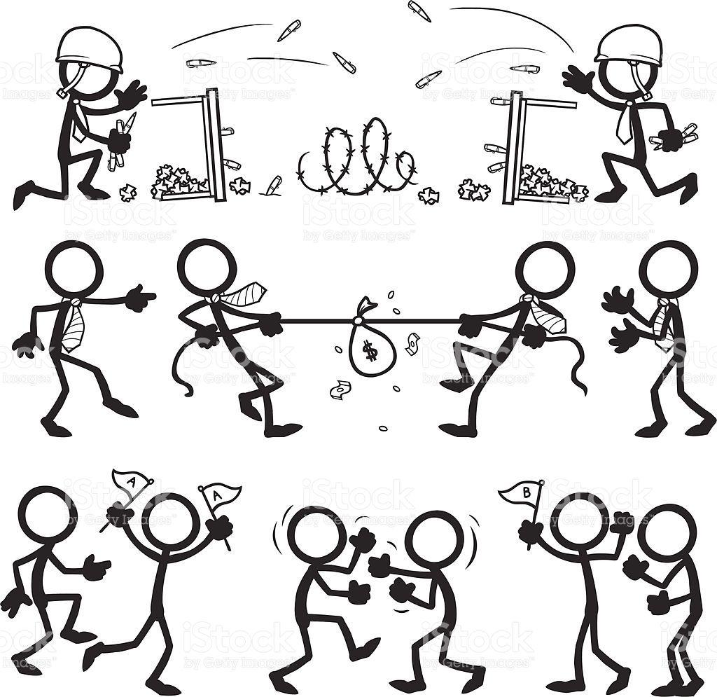 stick-figure-people-business-team-conflict-vector