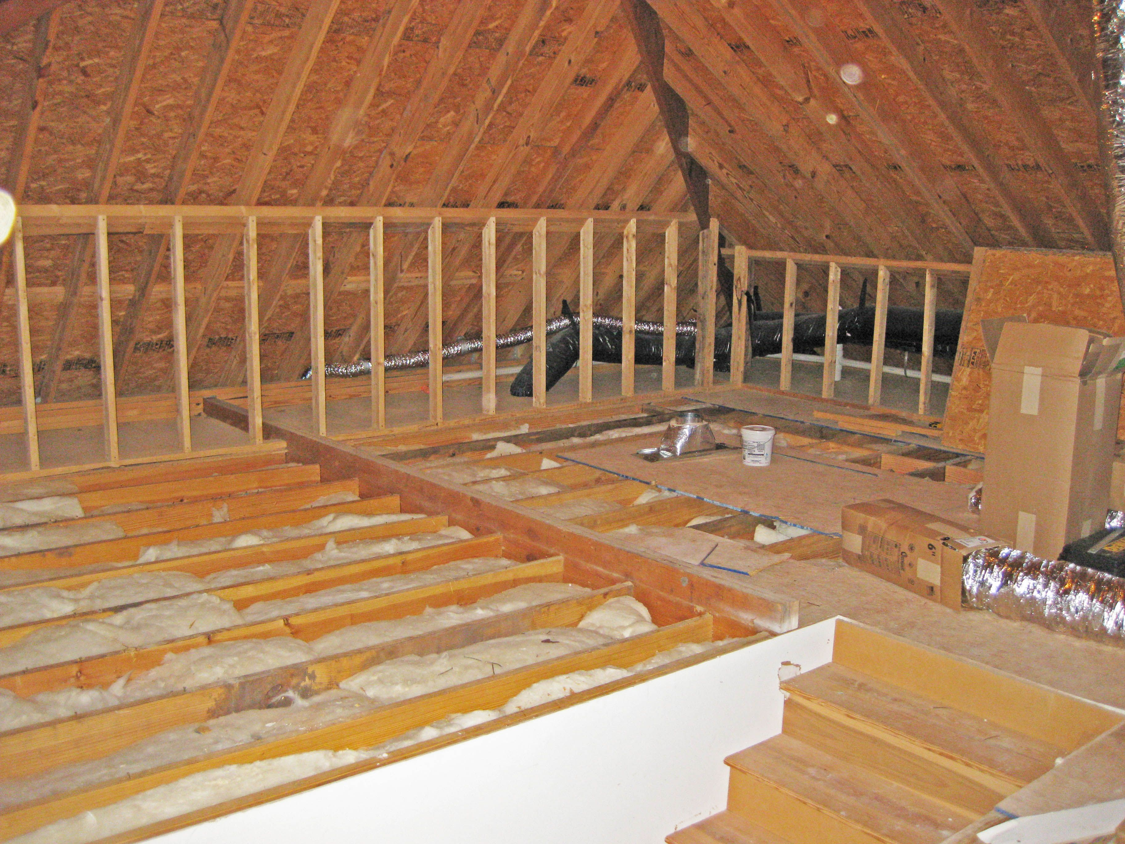 Pictures Of Finished Attics Daniel Island Remodel Kitchen Living Room And Attic Spacesea