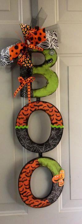 Cute halloween decor cricut Pinterest Door signs, Doors and Walls