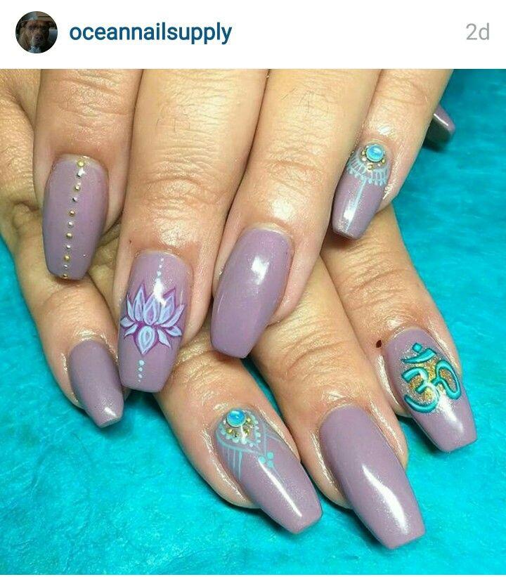 Nail art Indian beauty | nails | Pinterest | Indian beauty