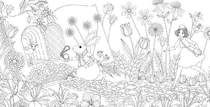 rbvagvxduwwaqaeyaahv5jz3kzi127jpg 714367 - Secret Garden Coloring Pages