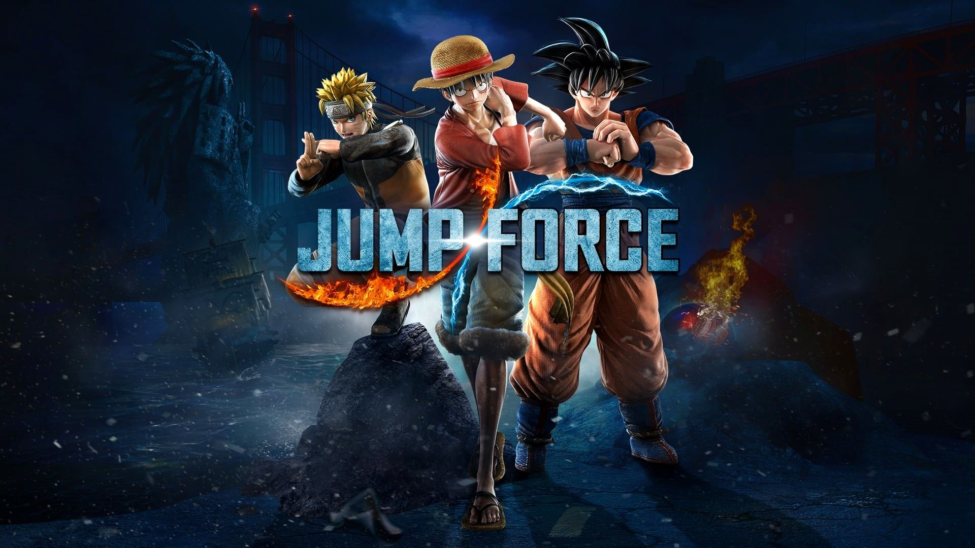 Wallpaper 4k Jump Force Ideas Force Official Trailer Jump
