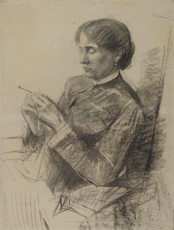 Portrait Of Madame La Comtesse Adele De Toulouse Lautrec 1882 Henri De Toulouse Lautrec Henri De Toulouse Lautrec Portrait Toulouse