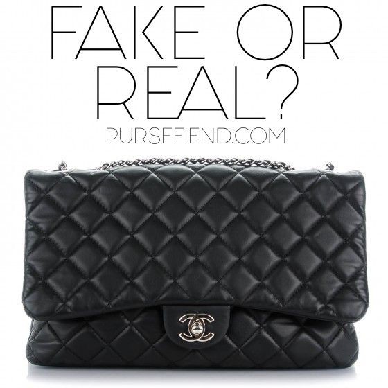 bf12a23bfc3a Can You Spot a Fake Chanel  Use these Tips to Figure Out whether Your Chanel  Bag is Real or Fake!