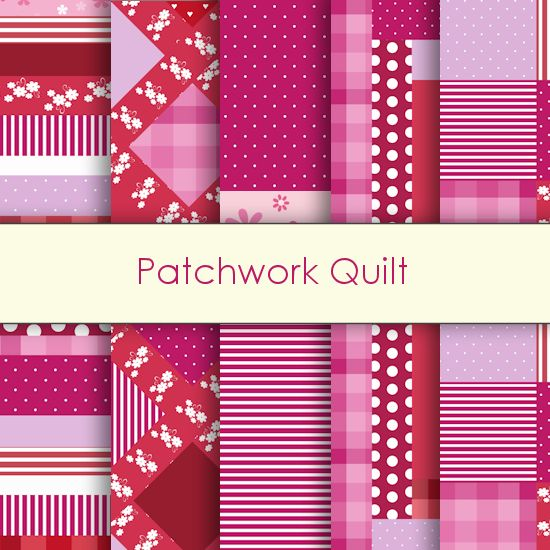 Patchwork Digital Papers