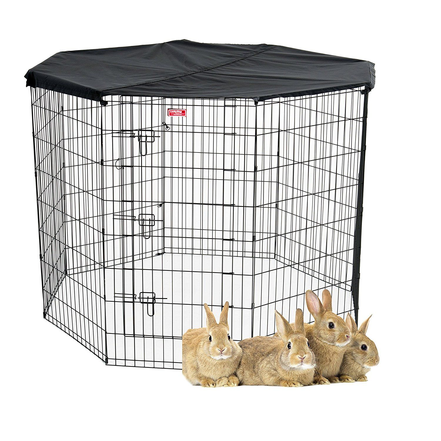 PET EXERCISE PEN with Cover Lucky Dog * You can get