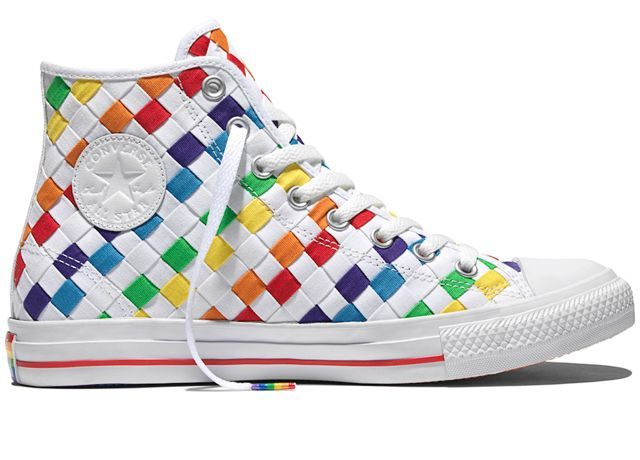 Chuck taylors, Rainbow sneakers