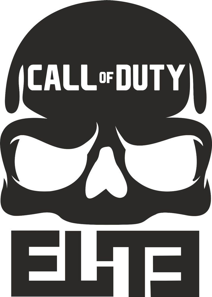 Call Of Duty Vinyl Wall Art Sticker Decal Xbox Ps3 Furniture Car