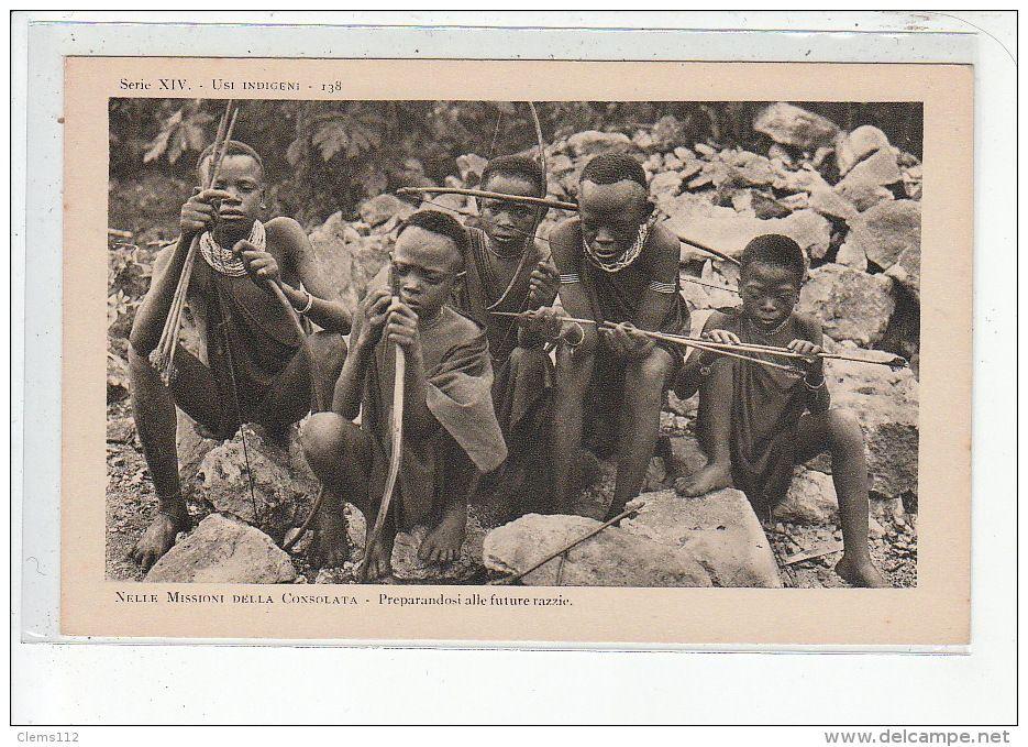 KENYA - Jeunes chasseurs - très bon état