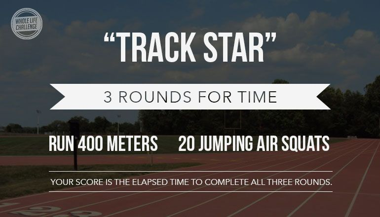 "Elisa Webmail :: Bodyweight Workout of the Week — ""Track Star"""