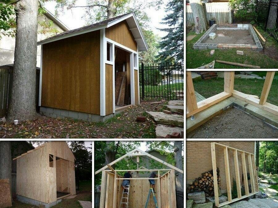 Diy utility shed, cool..