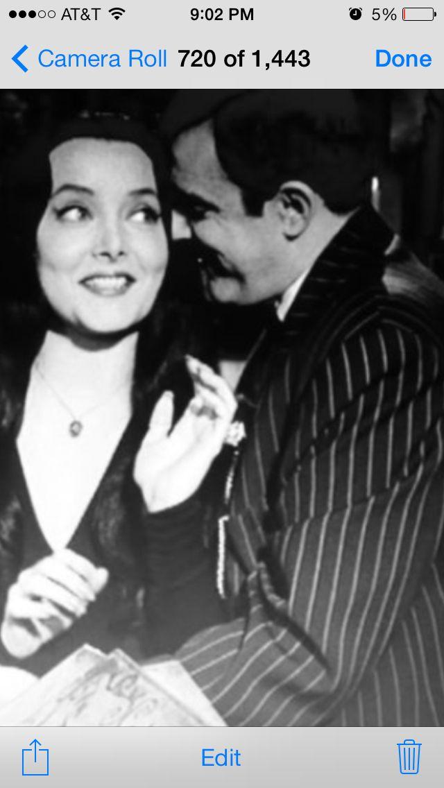 Pin on Morticia and Gomez Addams! Passionate Love!