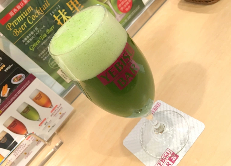 Japan's matcha green tea beer satisfies two cravings in an awesomely deliciousway | RocketNews24
