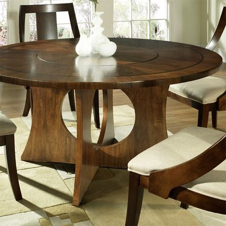dining room decor the flush top lazy susan i pinned this somerton 10055