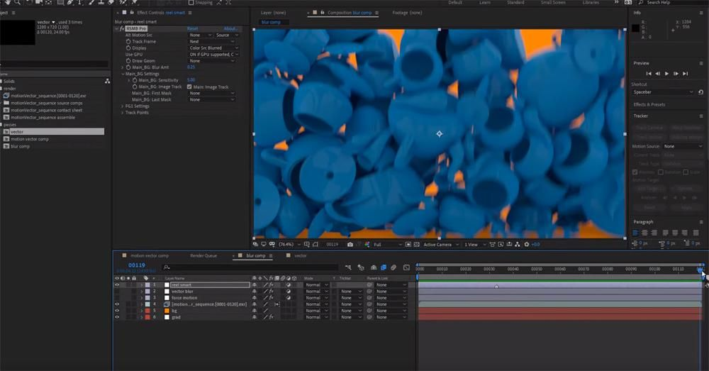 How to do motion blur