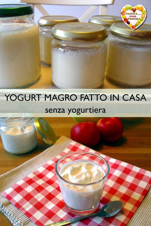 Ricetta Yogurt Magro.Yogurt Magro Senza Yogurtiera Ricetta Passo Passo Mangia Senza Pancia Yogurt Ricette Ricette Yogurt