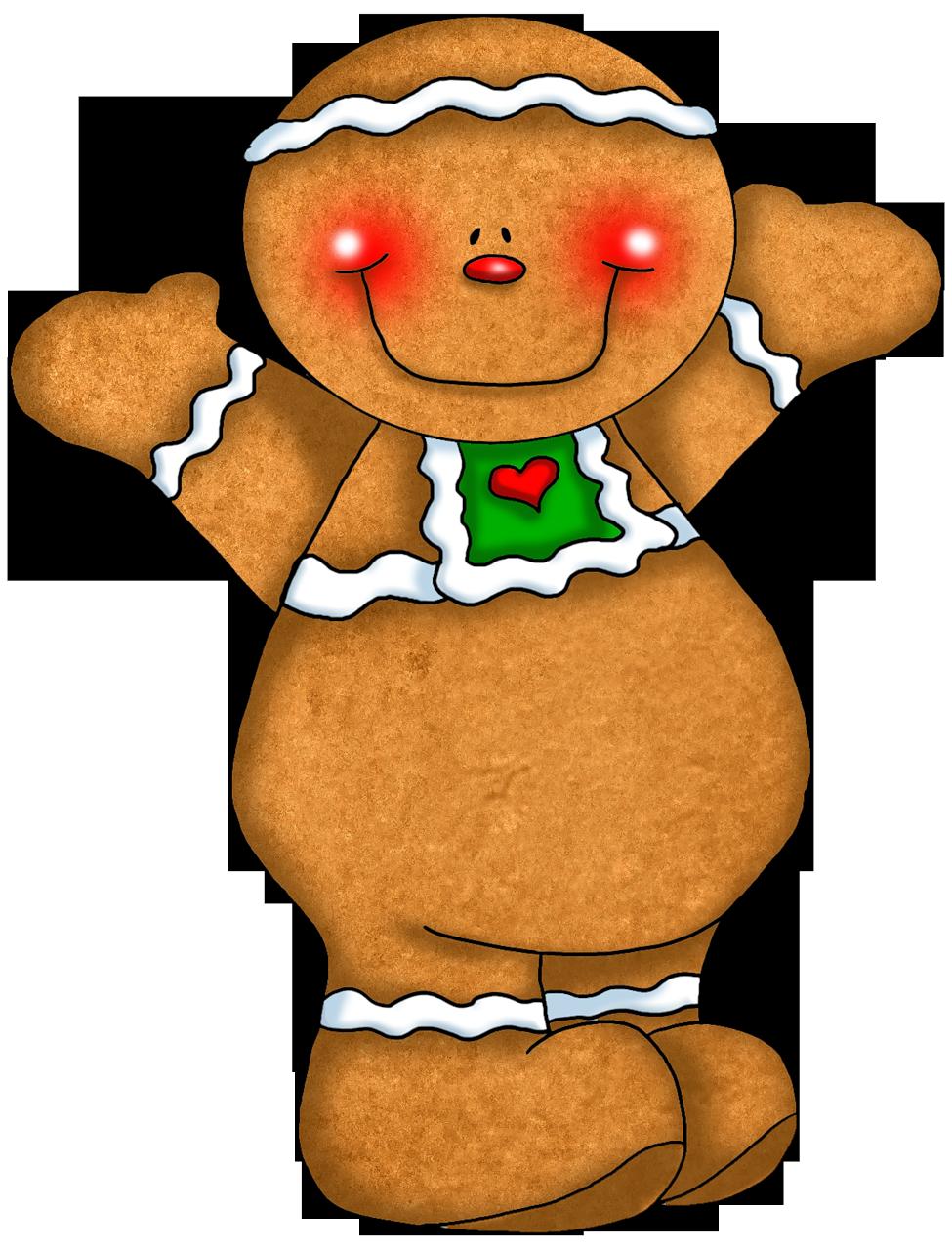 Gingerbread man ornaments - Cute Gingerbread Ornament Png Clipart