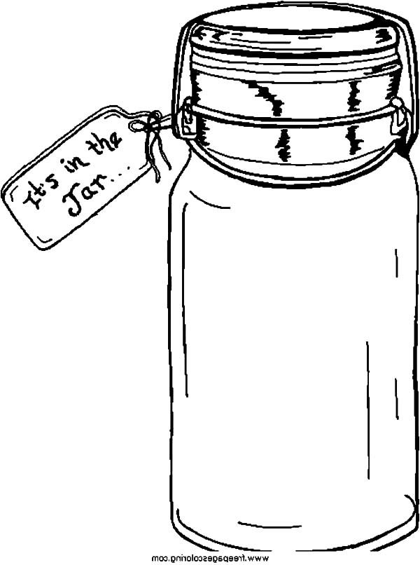 J Is For Mason Jar Candy Coloring Pages Buy Cookies Ice