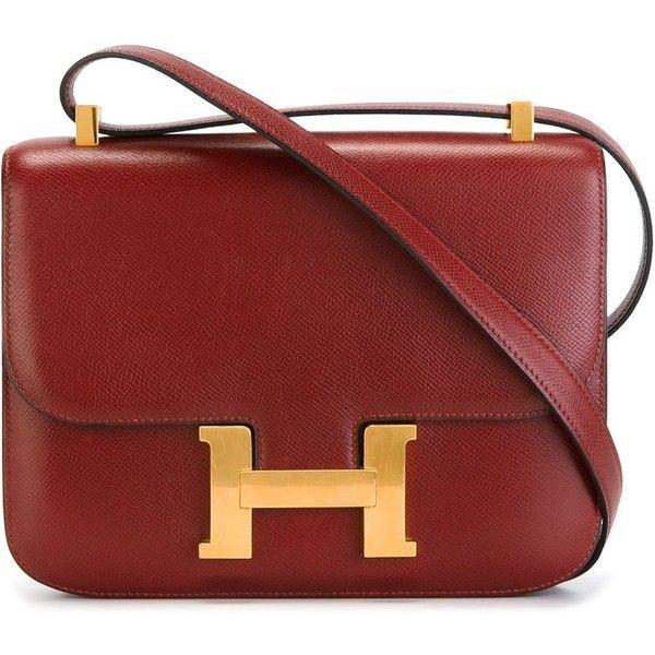 2d9402cf0cdc Hermès Vintage  The Constance  shoulder bag (61.140 HRK) ❤ liked on  Polyvore…
