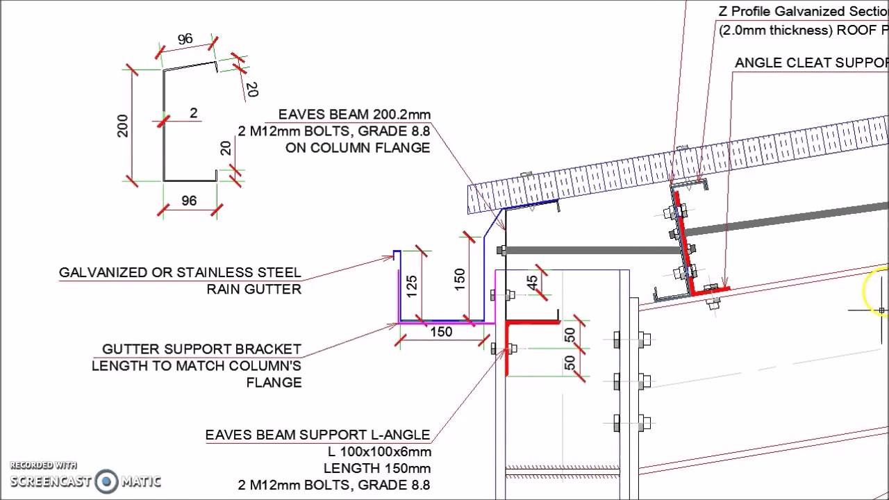 Image Result For Steel Portal Frame Design Roof Eaves Roof Steel Beams
