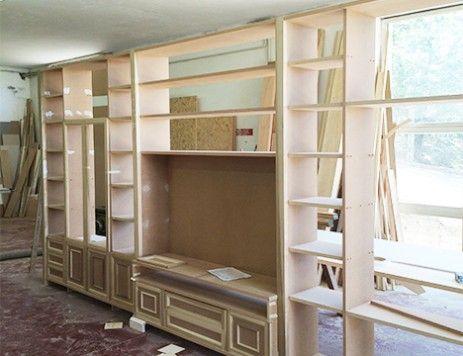 Costruire Mobili ~ Costruzione di un mobile soggiorno mobili soggiorno su misura