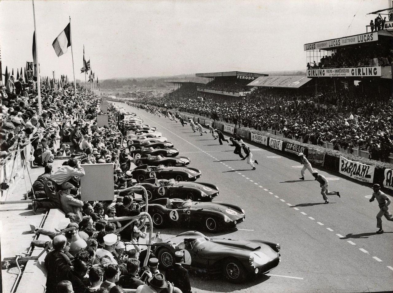 1955 Le Mans start   Le Mans Classic Race Cars   Pinterest   Le ...