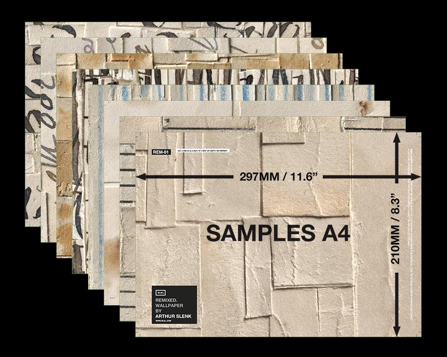 Remixed Wallpaper Sample Envelope Arthur Slenk For Nlxl Avec