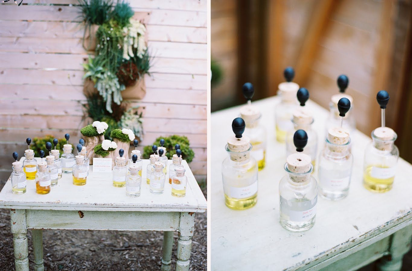 Make Your Own Perfume Bar // Design By JL Designs