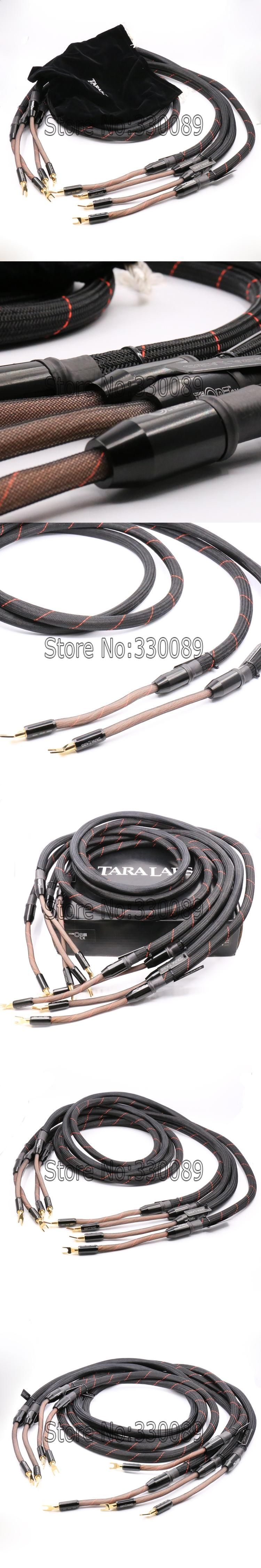 Free shipping 2.5m Tara Labs The one Speaker cable Loudspeaker Cable ...
