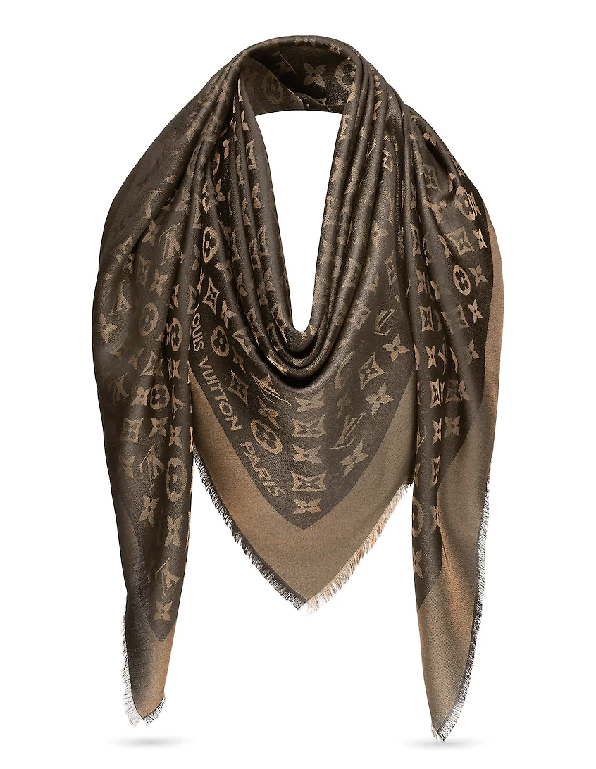 914ab99bf9457 Monogram Shine Shawl in 2019 | Young in Love | Louis vuitton, Louis ...