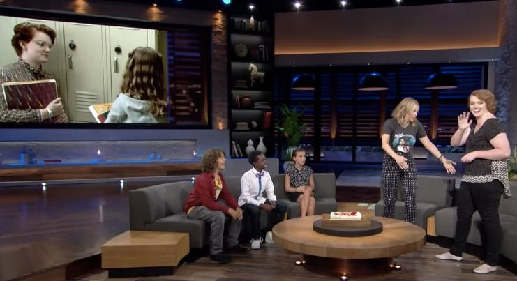 Barb (Well The Actress Who Played Barb) Returned On Chelsea Handler's New Talk Show